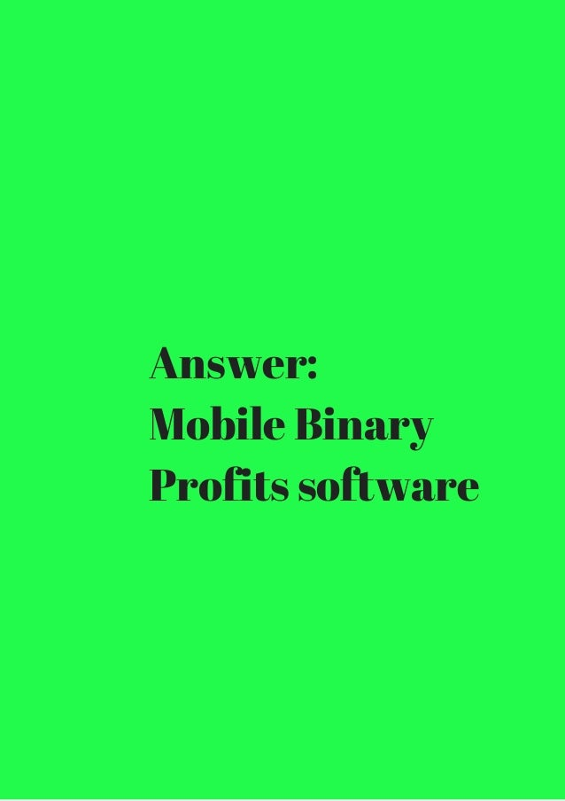 Binary options broker review questions