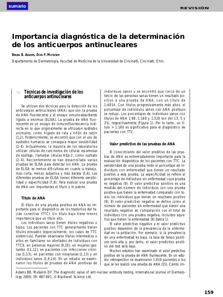 Ant. anti nucleares