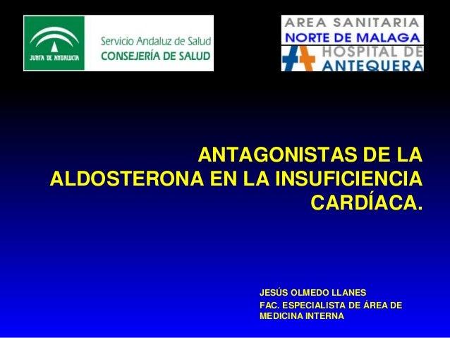 Antagonistas de la aldosterona en la ic (2)
