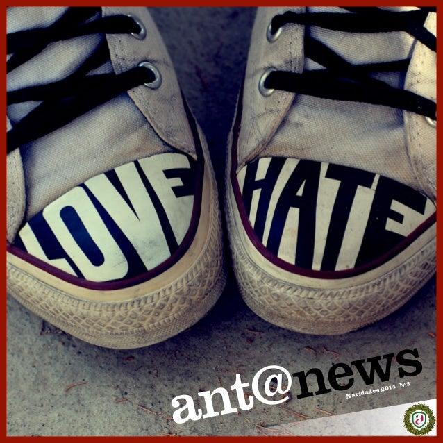 a nt@ news Navidades 2014 Nº3