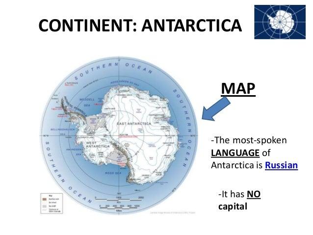 Antarctica for Antarctica cuisine