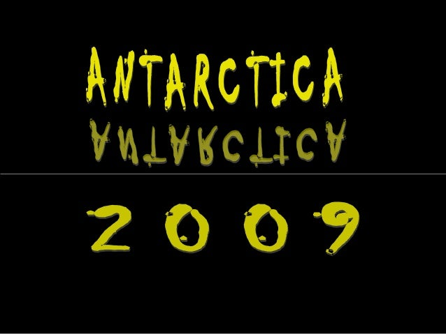 Antarctica --the fifth largest of the seven continents