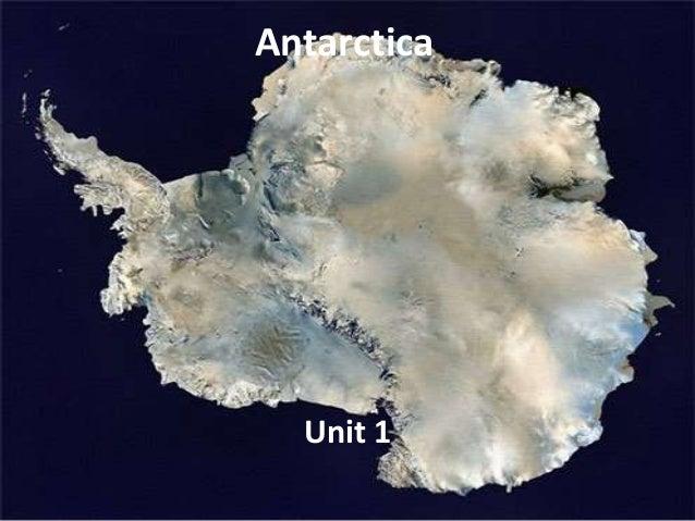 Antarctica   unit 1