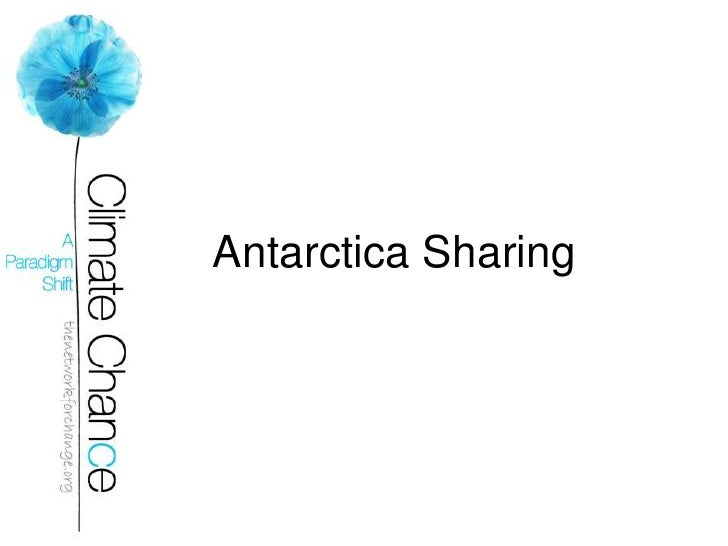 Antarctica Expedition (Short)  Climate Chance(2)