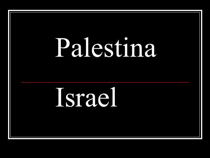 Informe sobre Palestina en 2008... por Antía Rodríguez e Miriam Andrés 1º bac