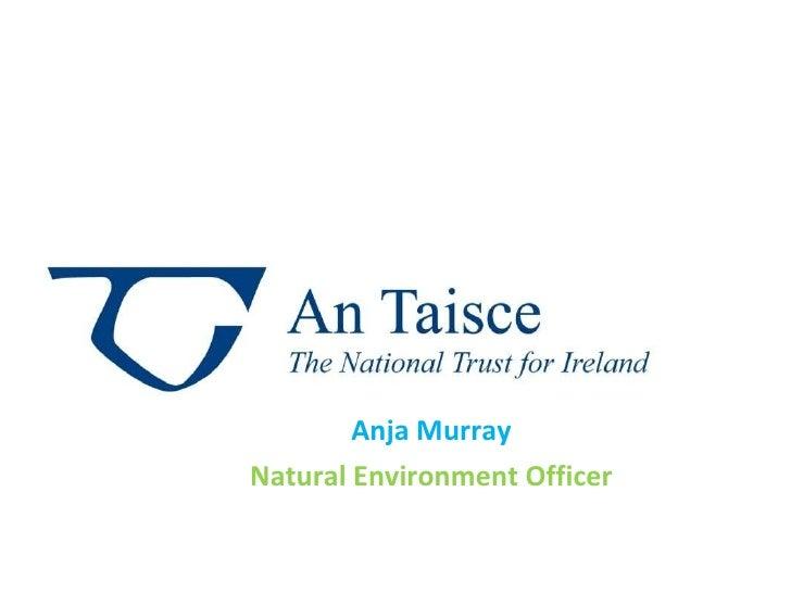 Anja Murray Natural Environment Officer