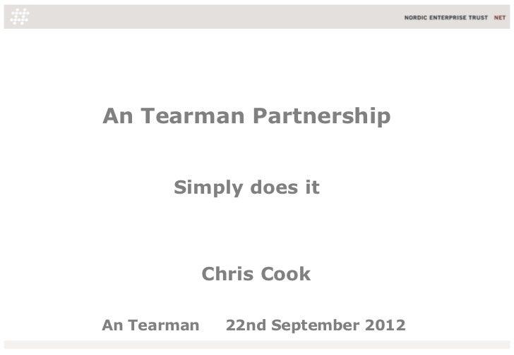 An Tearman Partnership       Simply does it             Chris CookAn Tearman     22nd September 2012