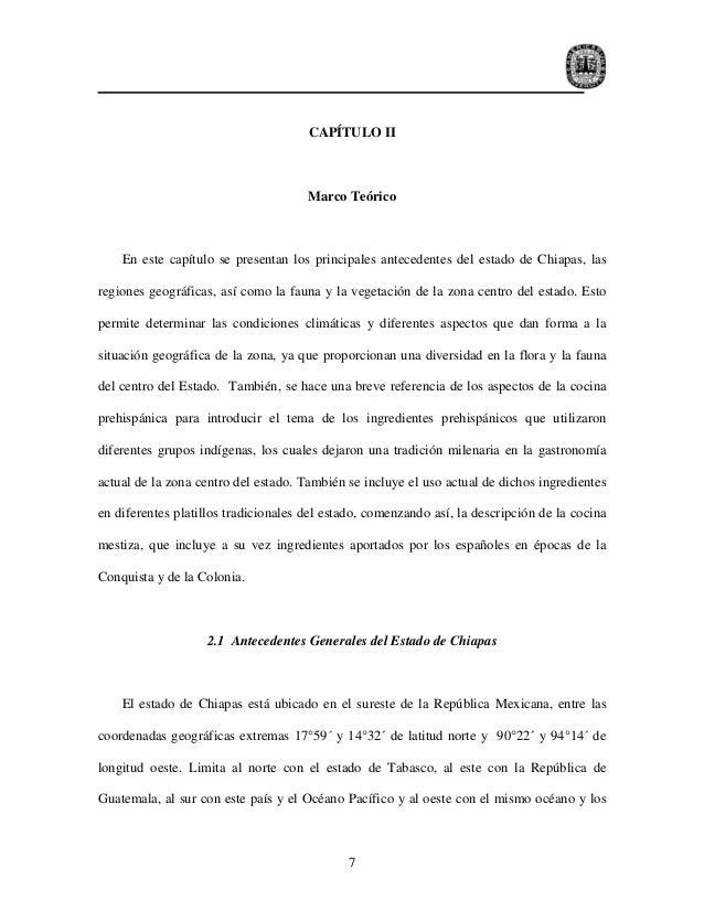 CAPÍTULO II                                      Marco Teórico    En este capítulo se presentan los principales antecedent...