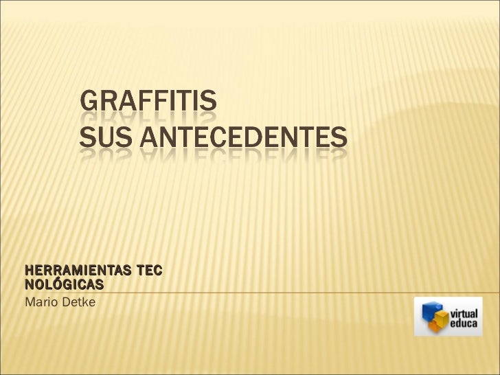 Antecedentes graffiti