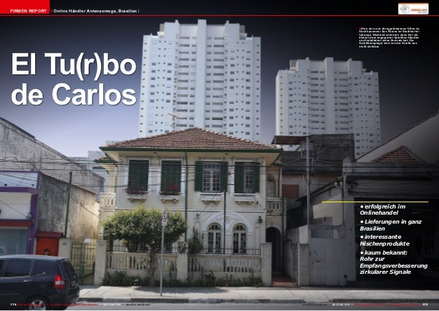FIRMEN REPORT                        Online Händler Antenaomega, Brasilien                                                ...