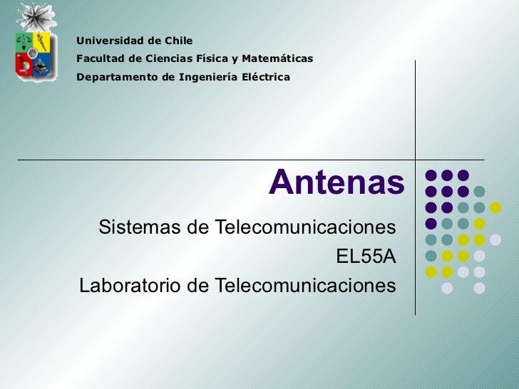 Universidad de ChileFacultad de Ciencias Física y MatemáticasDepartamento de Ingeniería Eléctrica                         ...