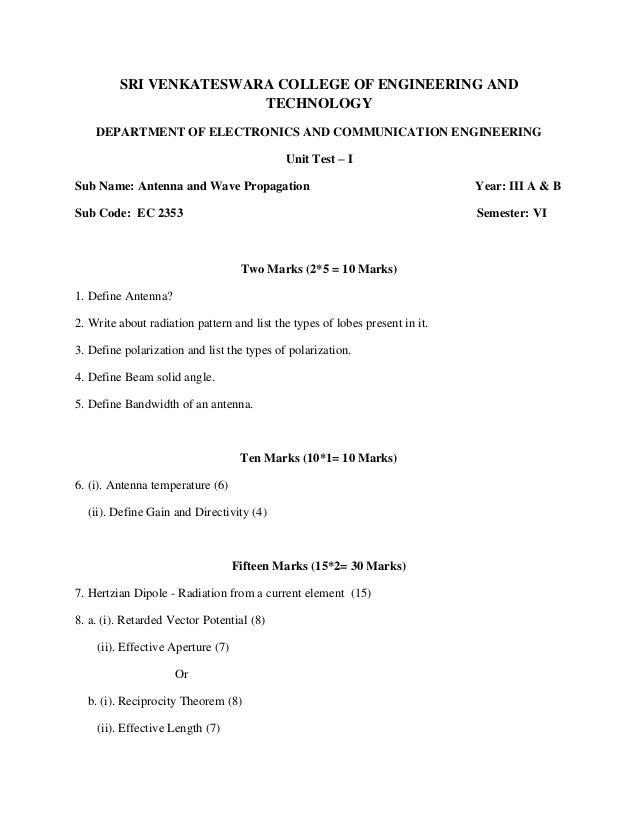 SRI VENKATESWARA COLLEGE OF ENGINEERING AND                        TECHNOLOGY    DEPARTMENT OF ELECTRONICS AND COMMUNICATI...