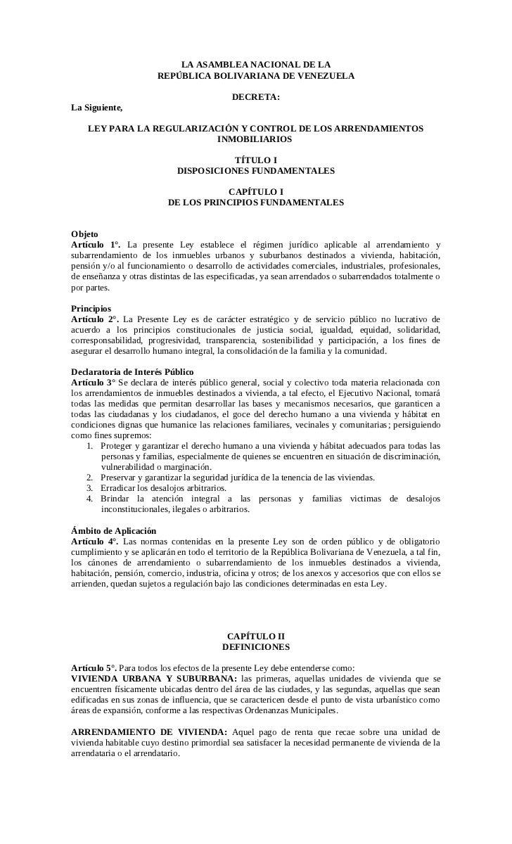 Anteproyecto de-ley-para-la-regularización-y-control-de-los-arrendamientos