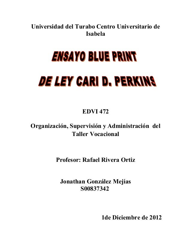 Ante proyecto blue print