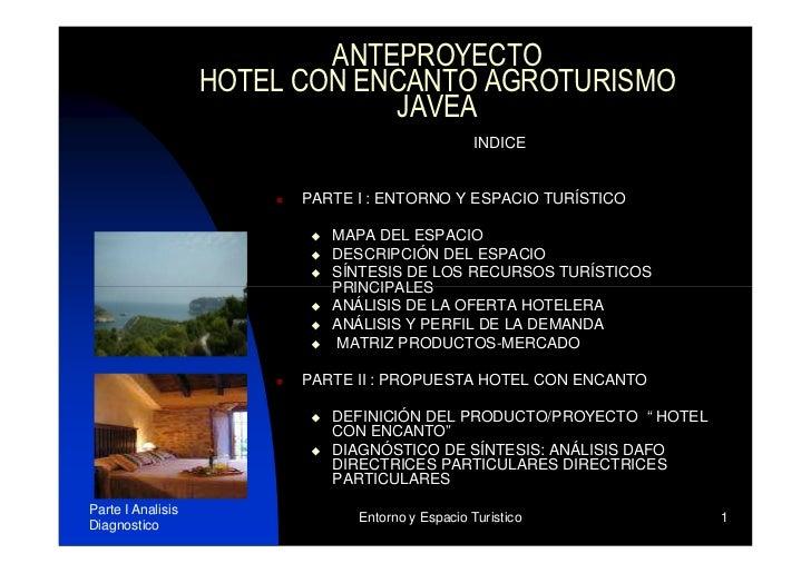 hotel rural javea: