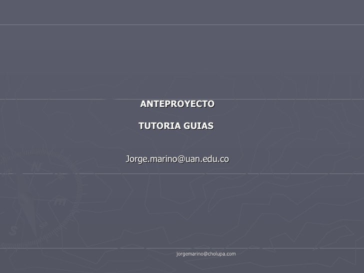 Anteproyectosesionoctubre18