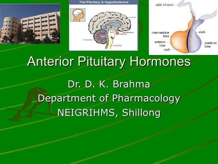 Anterior pituitary hormones - drdhriti
