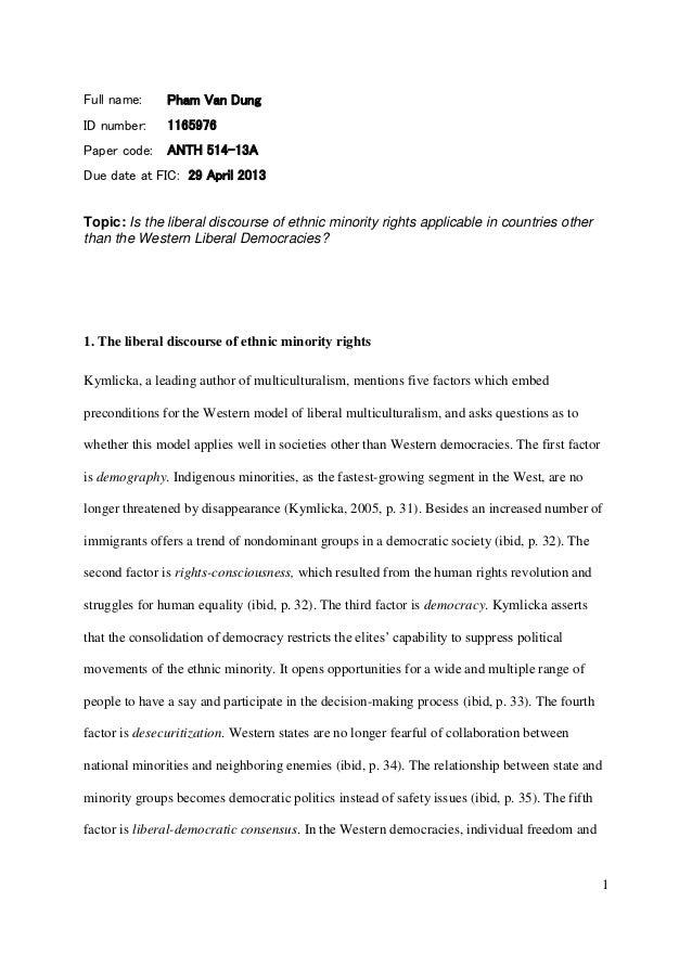 Anth 514 13 a essay 1 phamvandung