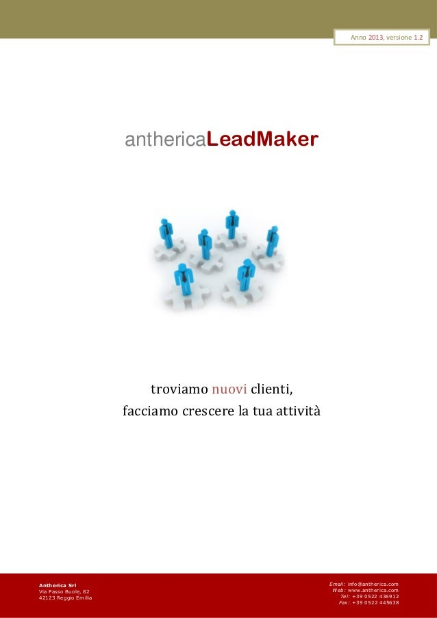 Antherica Leadmaker