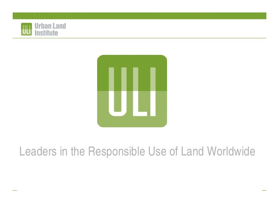 Leaders in the Responsible Use of Land Worldwide
