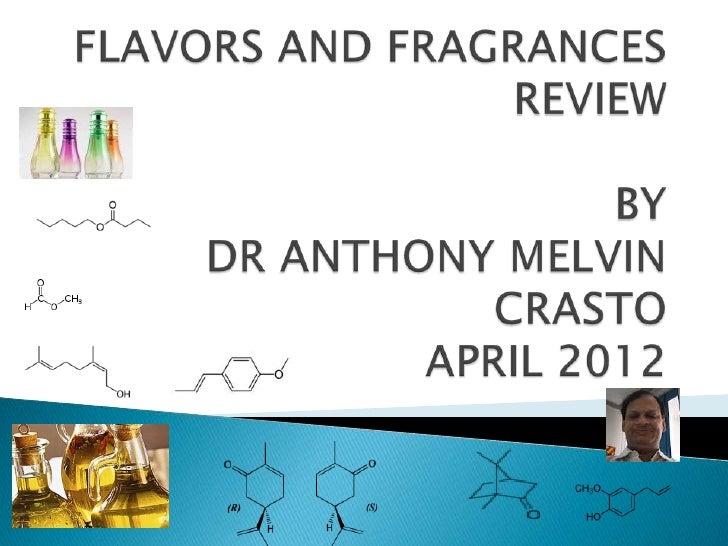 Anthony crasto  flavors and fragrances