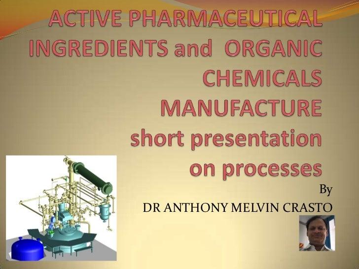 Anthony crasto manufacturing presentation