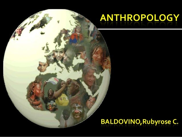 Anthropology list of educational subjects