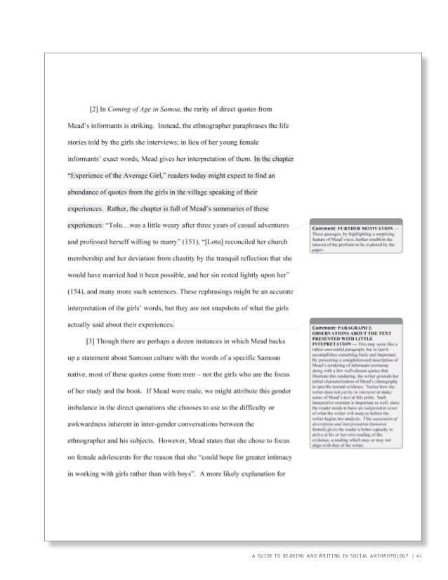 I need help writing an in-class essay for anthropology class?