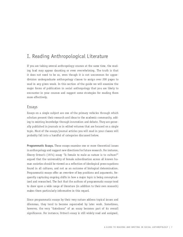 anthropolgy essay Anthropology essay secrets that no one else knows about especially, as soon as you're a pupil, being tied to the deadline, with no amazing suggestions to utilize.