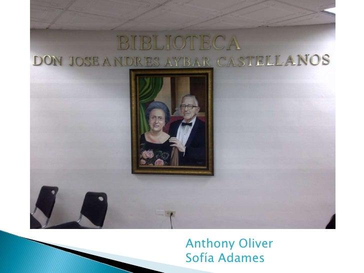 Anthony Oliver Sofía Adames