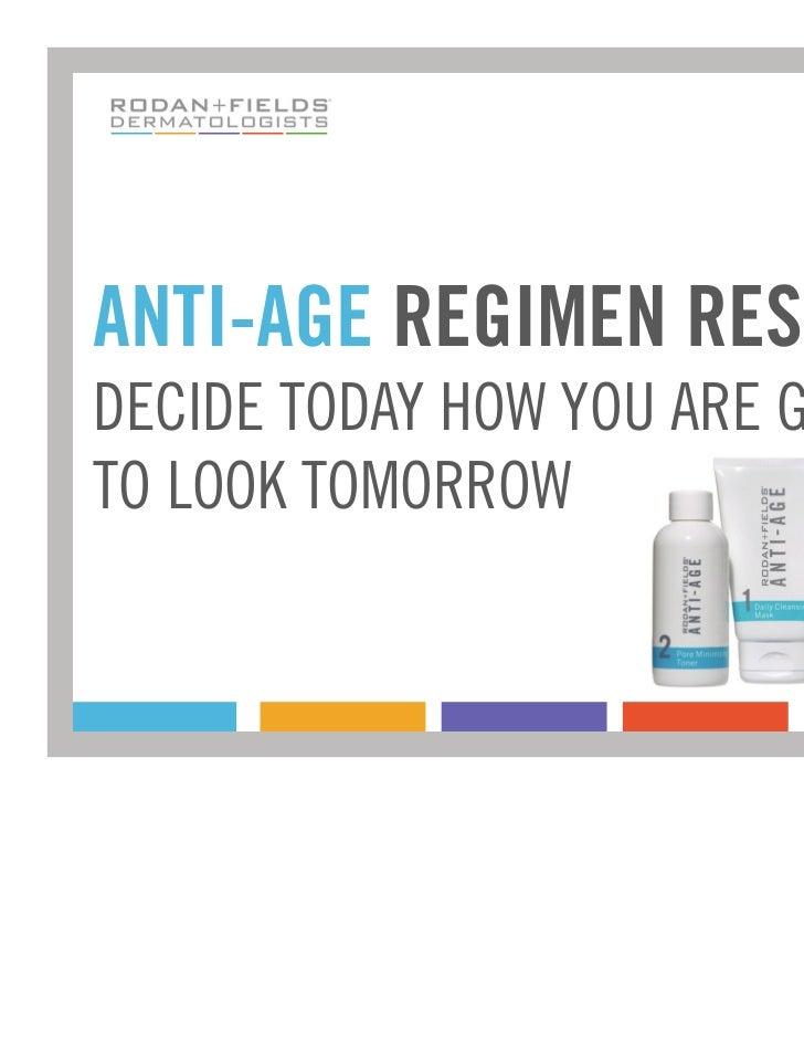 ANTI-AGE Regimen