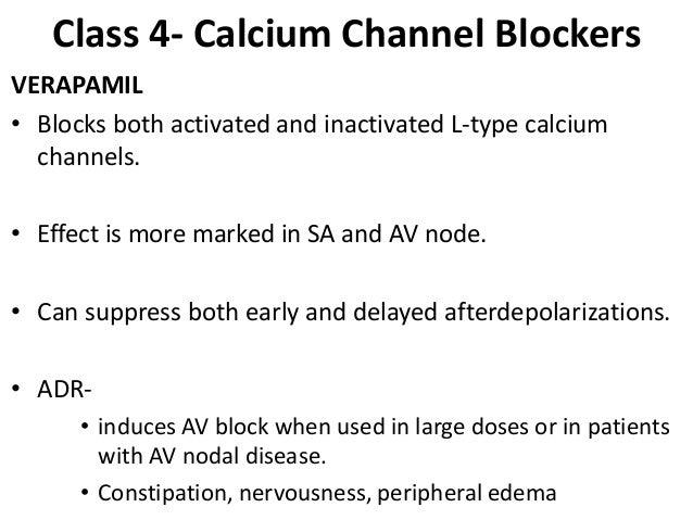 Calcium Channel Blockers Viagra