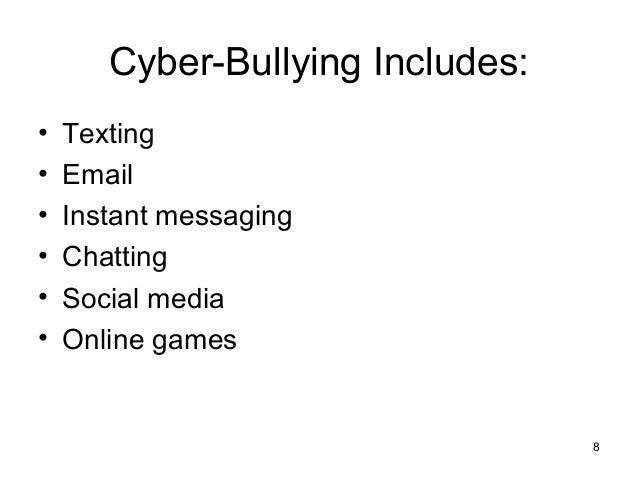 Dissertation on cyber bullying