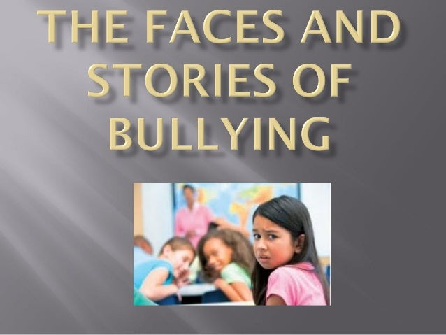 Please turn over the paper in front of you and take time to read the  three stories of bullied youth. When you are finishe...