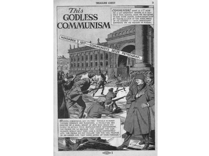 Anti communist comic book
