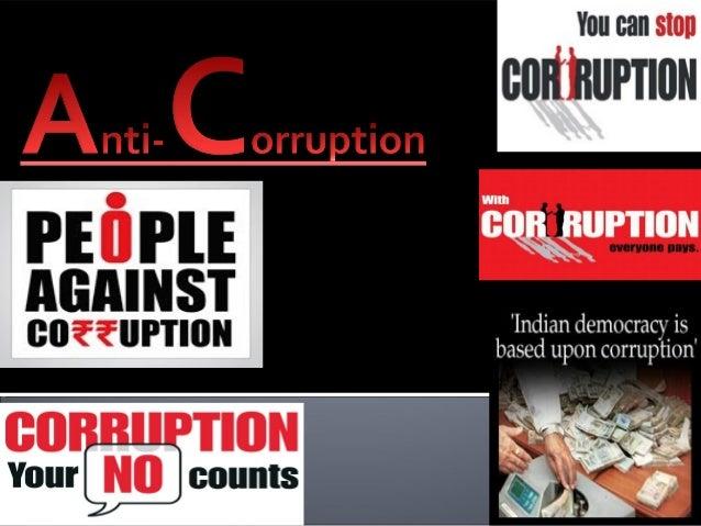 WHAT       ARE       CORRUPTIONAND ANTICORRUPTION?