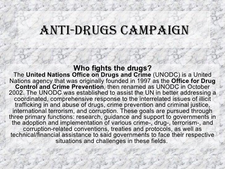 Anti Drugs Campaign