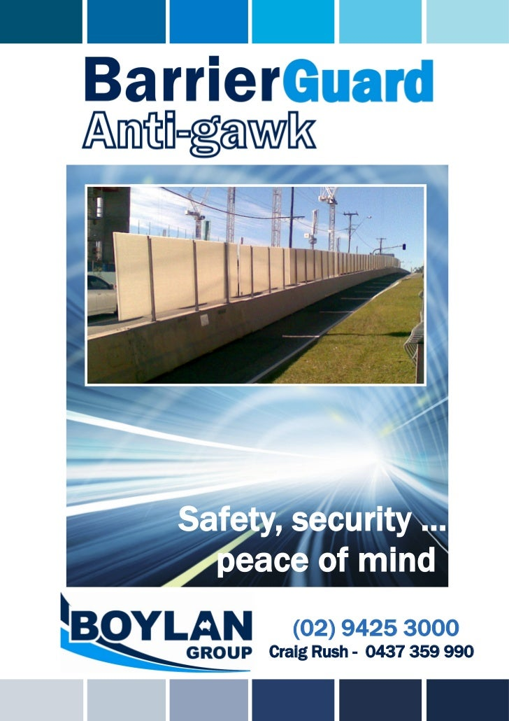 Safety, security …  peace of mind        (02) 9425 3000      Craig Rush - 0437 359 990