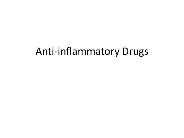 Anti inflammatory drugs (2)