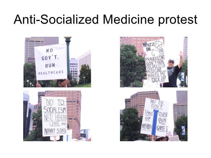 Anti-Socialized Medicine protest