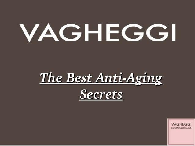 TheBestAntiAging Secrets