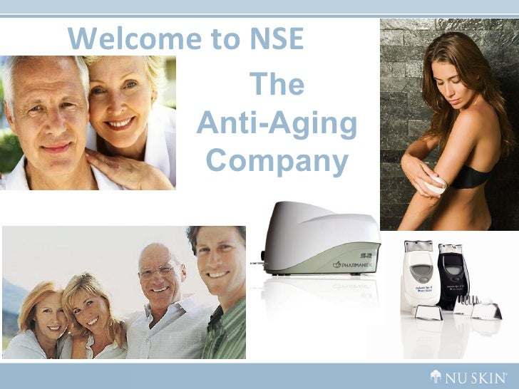 Welcome to NSE The Anti-Aging Company