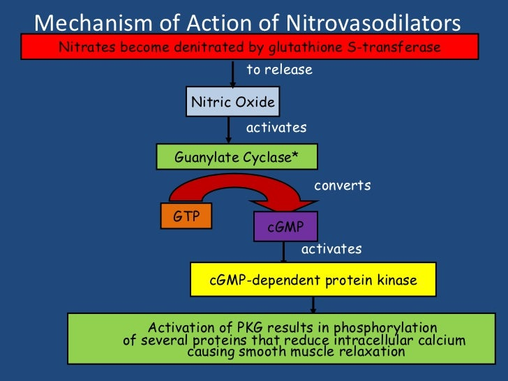 Nitrates and viagra
