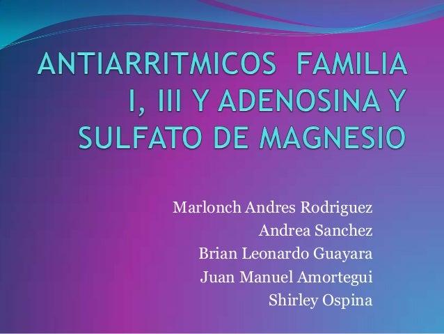 Marlonch Andres Rodriguez          Andrea Sanchez  Brian Leonardo Guayara   Juan Manuel Amortegui           Shirley Ospina