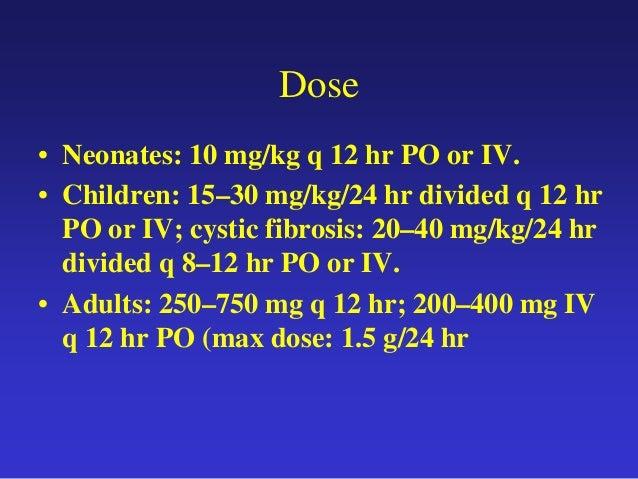 Dose Pediatric Zithromax