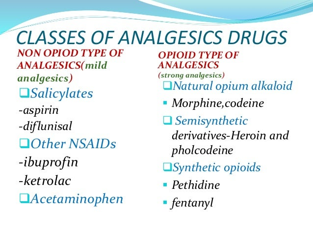 What Is an Analgesic
