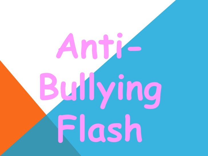 Antibullying flash mob