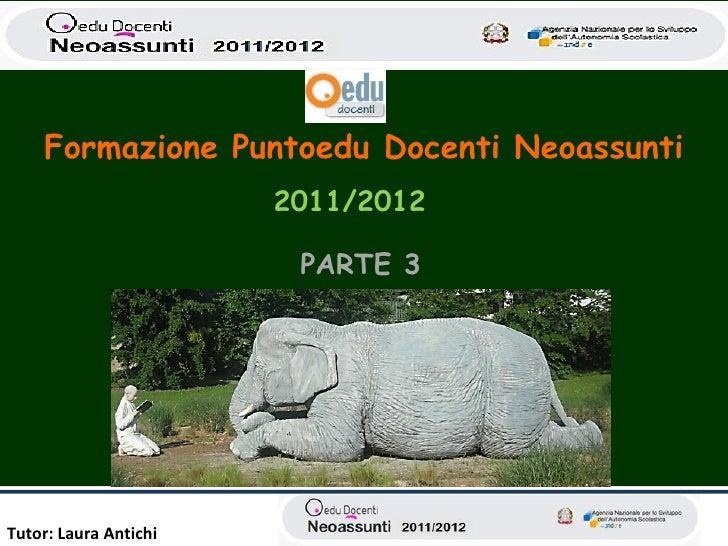Antichi terzo neoassunti