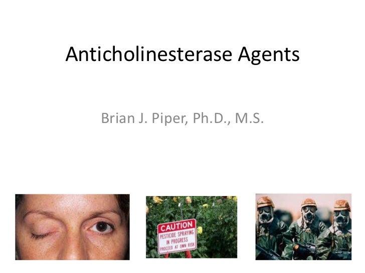 Anticholinesterase