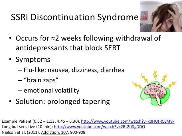 Paxil Withdrawal Symptoms Brain Zaps